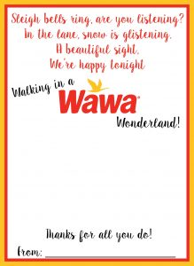 Wawa Holiday Gift Card Holder
