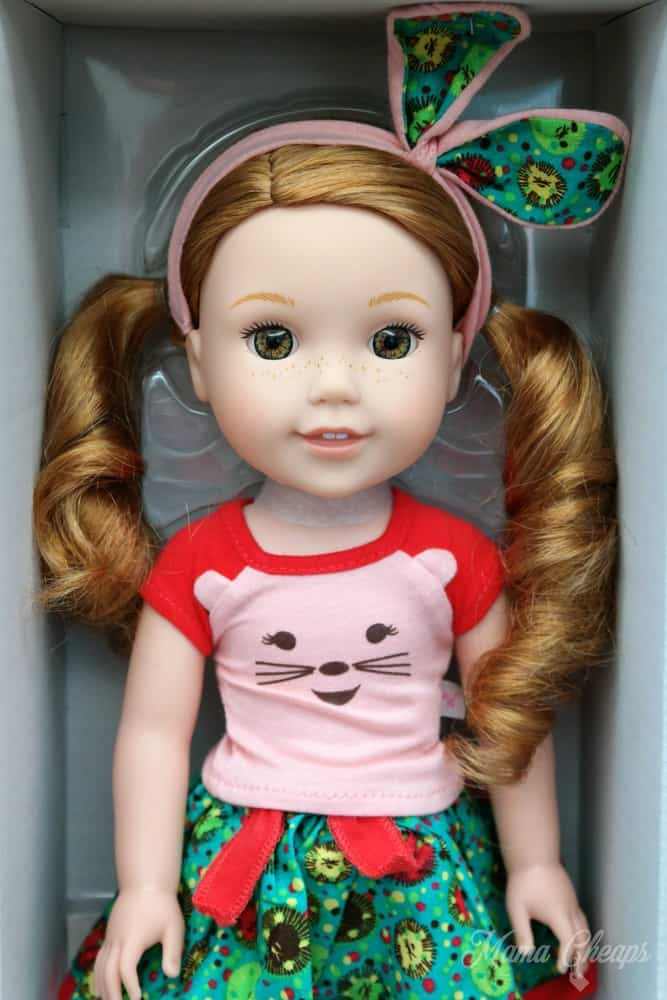 Wellie Wishers Doll Willa