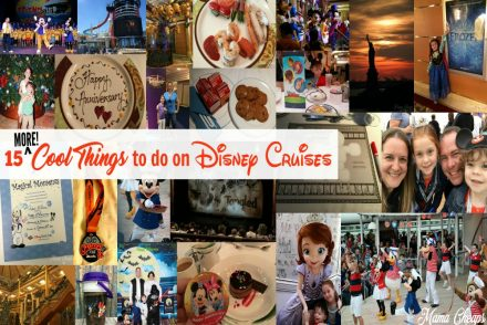 Cool things on a Disney Cruise