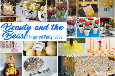 Beauty and the Beast Inspired Party Ideas Feature