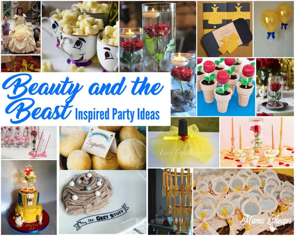 Beauty and the Beast Inspired Party Ideas