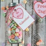 Conversation Candy HeartsValentine Idea with Tag