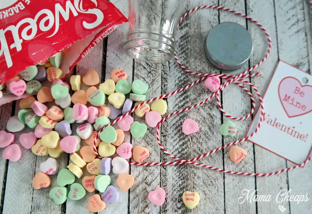 Conversation Hearts Craft