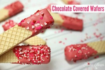 Easy Chocolate Covered Wafers