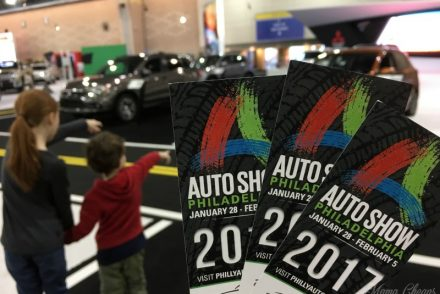 Kids at Philly Auto Show Feature