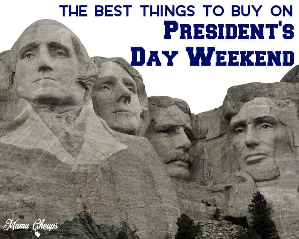 Best Things to Buy on Presidents Day