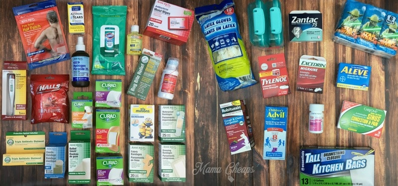 Diy dollar store first aid kit for your car free for Dollar store items online