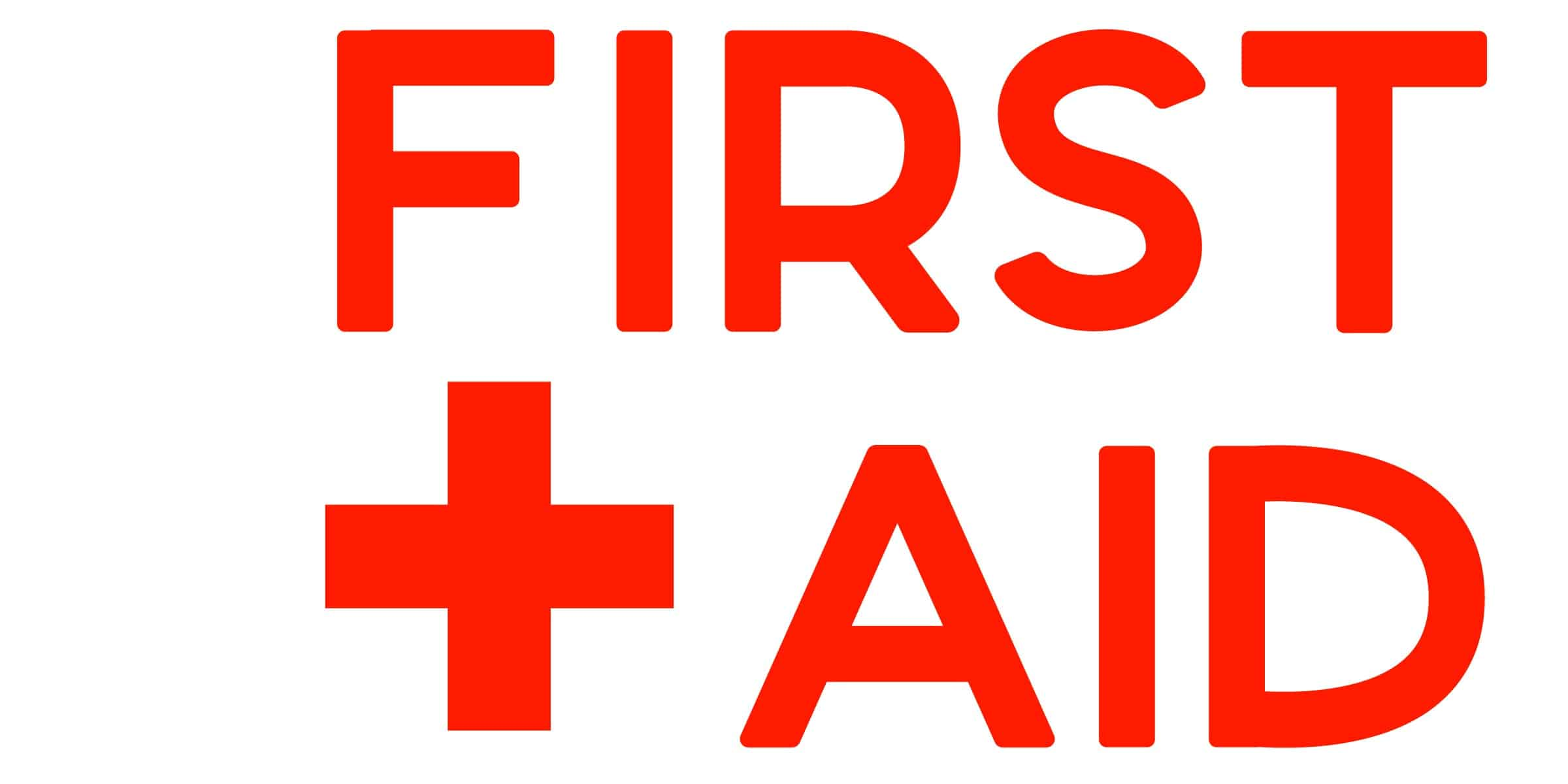 Lively image regarding first aid printable