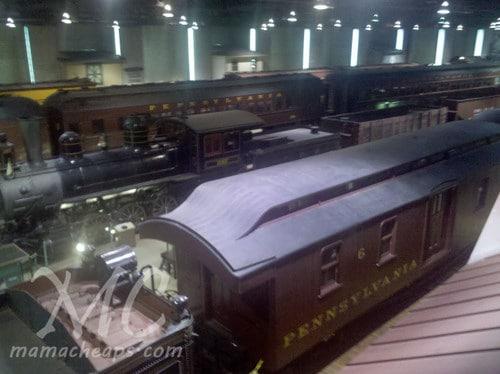 Railroad Museum of Pennsylvania Trains