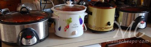 spaghetti sauce crock pot
