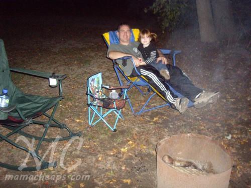camping campfire cape may