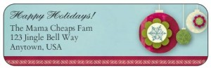 holiday label 2
