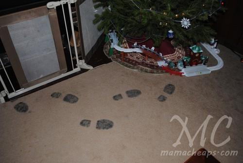 Santa Soles Create Santa S Boot Prints On Your Floor