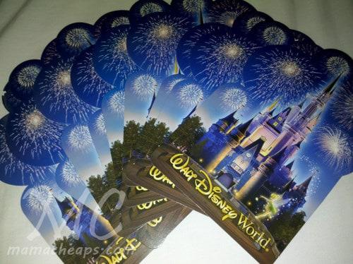 disney world postcard