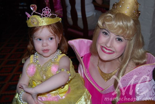 lily aurora sleeping beauty princess dinner akershus epcot center