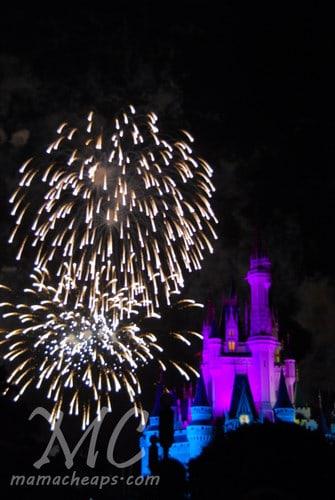 magic kingdom fireworks 2