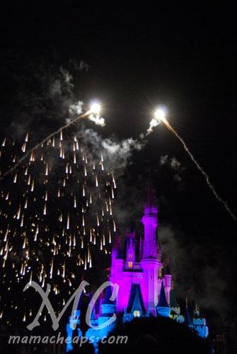 magic kingdom fireworks