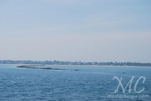 Ferry into Nantucket