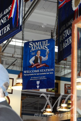 Samuel Adams Brewery Tour Boston