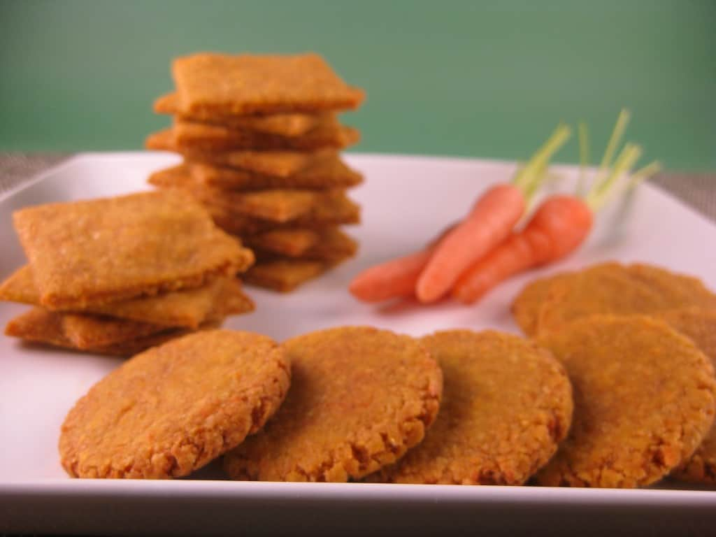 cheddar carrot coins snack
