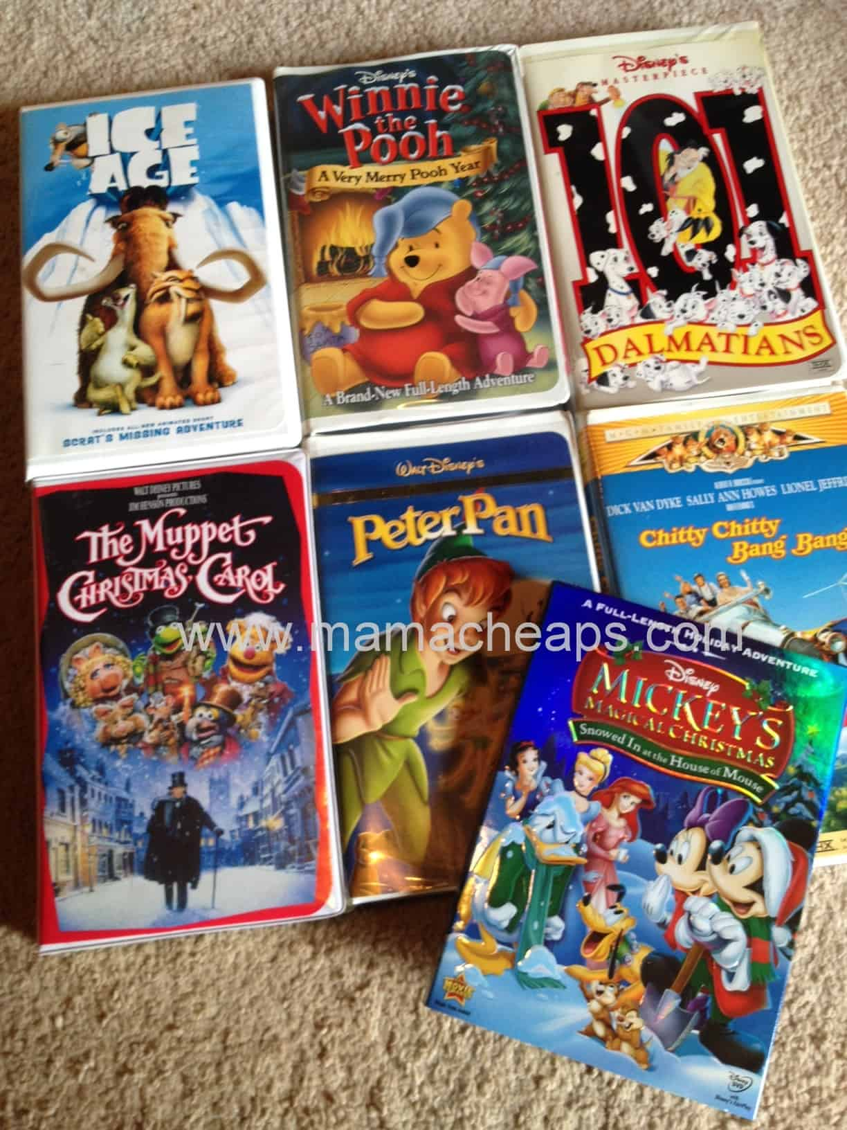 Thrift Store Stock Up: 7 Kid Movies for $3.50 | Mama Cheaps