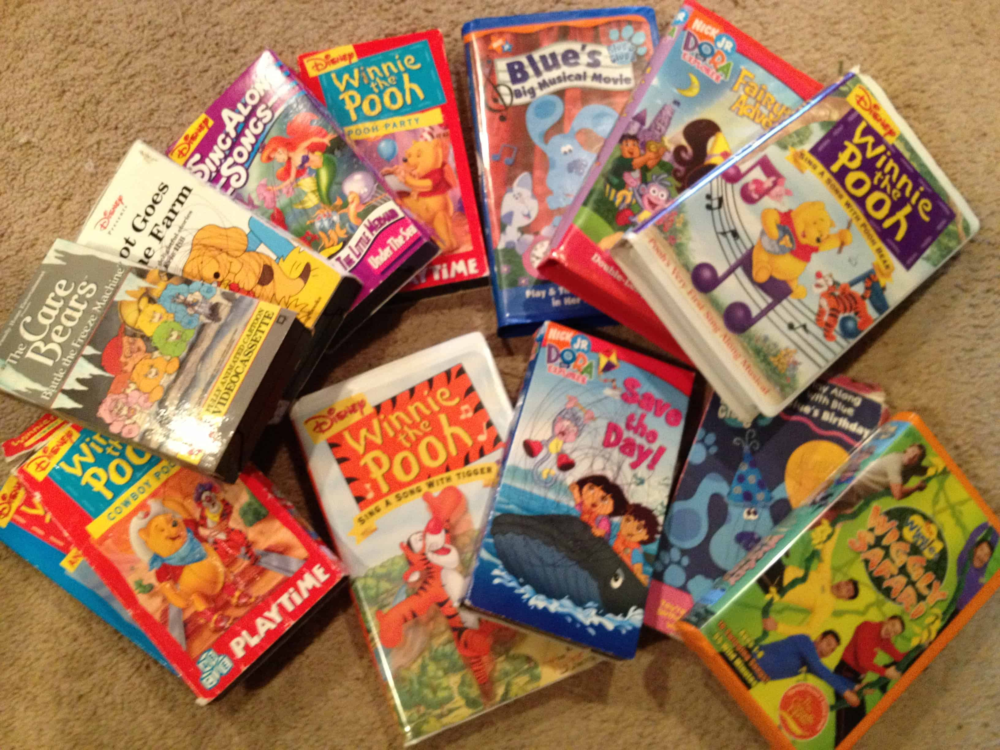 Thrift Store Score 13 Kid Movies For 1 05 Mama Cheaps