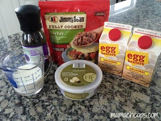 Jimmy Dean turkey sausage crumbles breakfast sandwiches ingredients