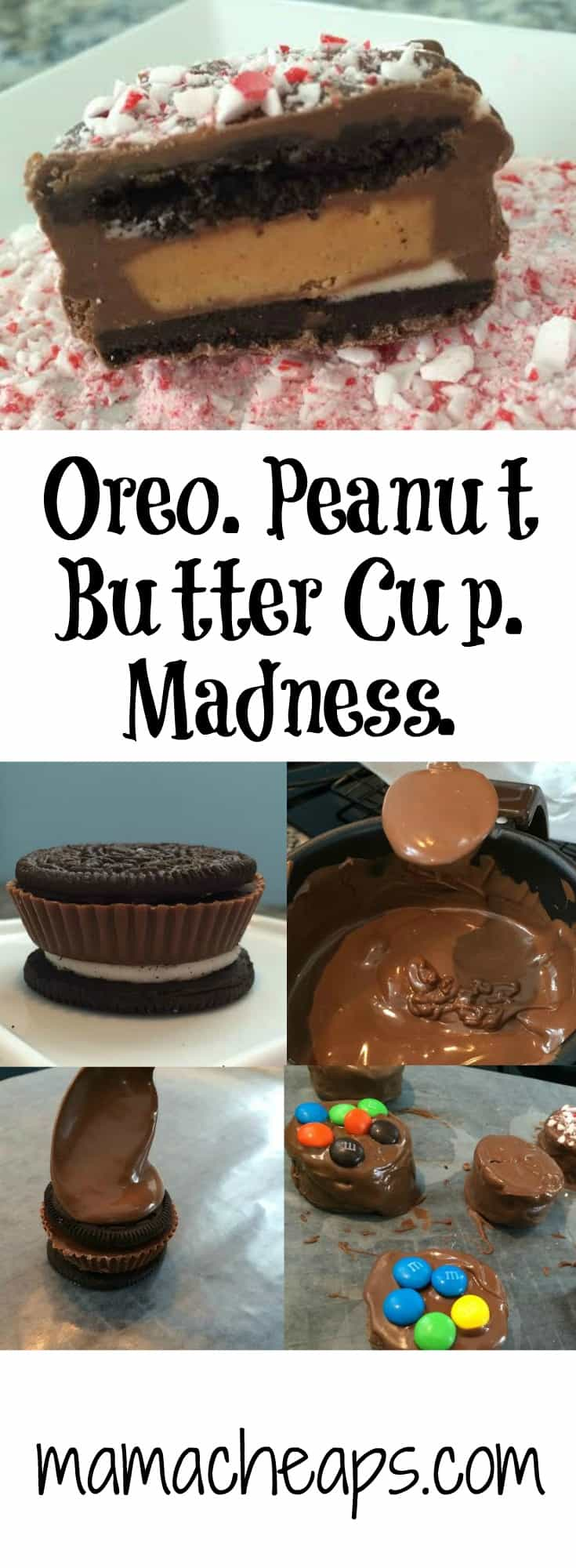 Oreo Peanut Butter Cup Madness