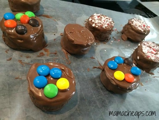Oreo Reeses Madness toppings