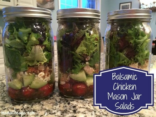 mason jar salads complete