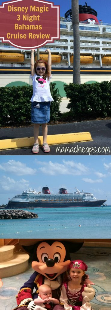 Disney Magic 3 Night Bahamas Cruise Review