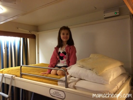 Disney Magic Ship cabin bunk
