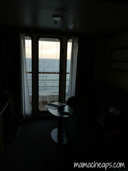 Disney Magic Ship cabin view