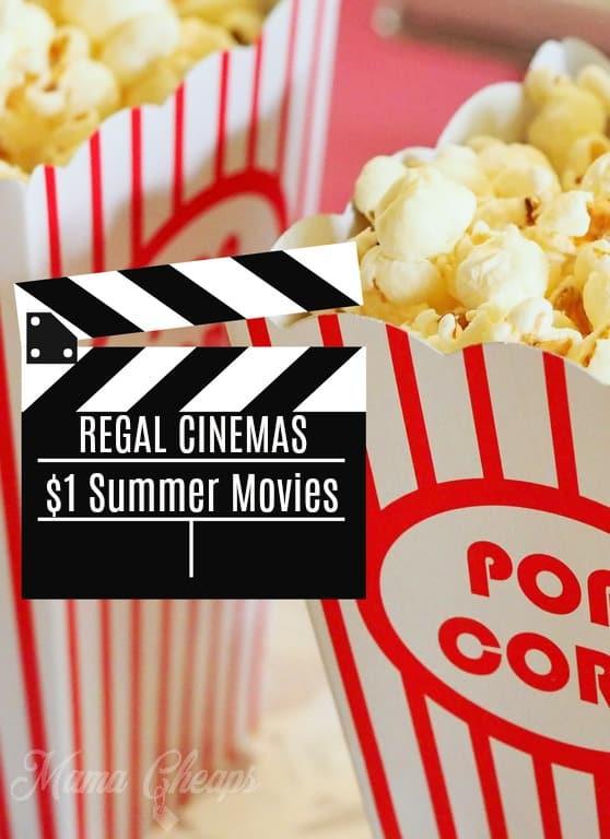 Regal Summer Movies PIN