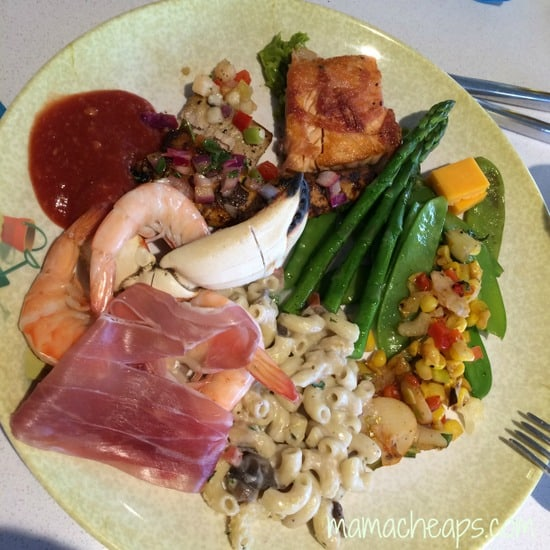 disney magic lunch buffet