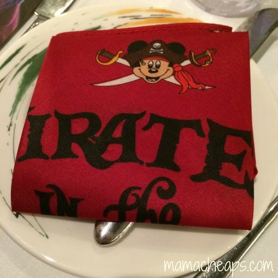 disney magic pirate night bandana