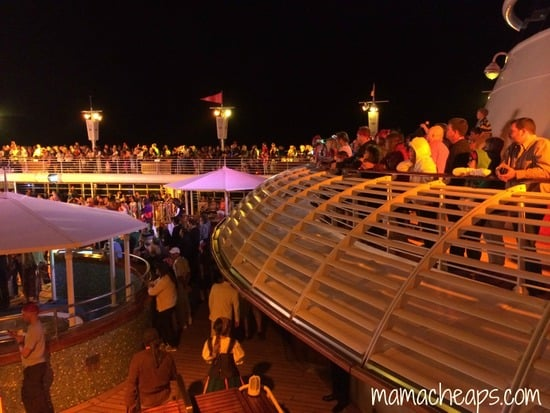 disney magic pirate night deck party crowd