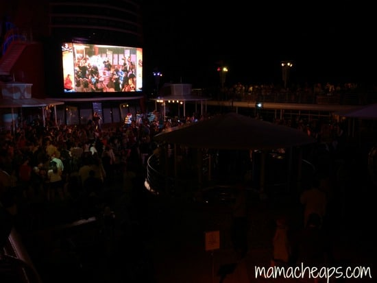 disney magic pirate night deck party