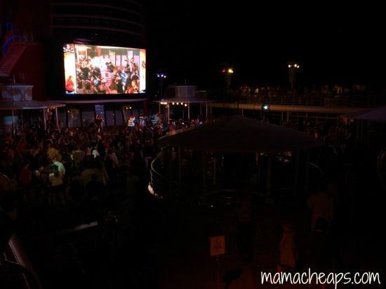 disney magic pirate night deck party