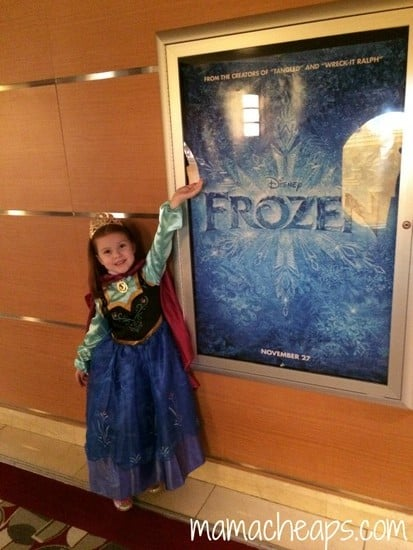 lily frozen