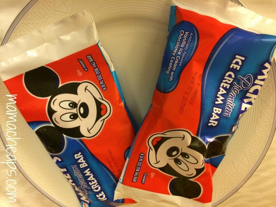 mickey ice cream bars
