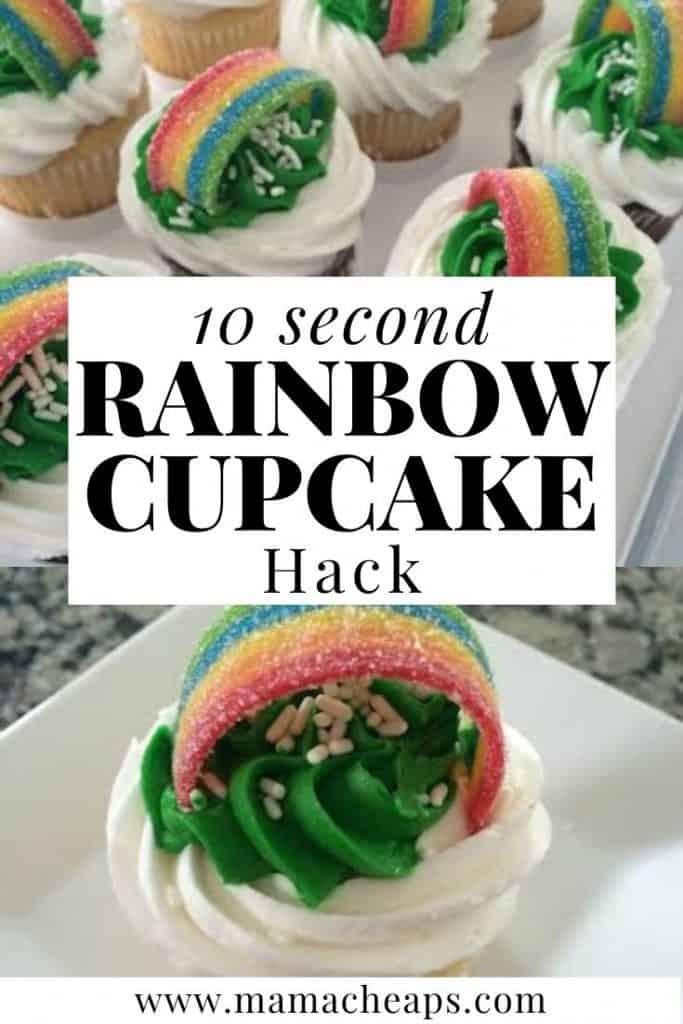 rainbow cupcakes dessert