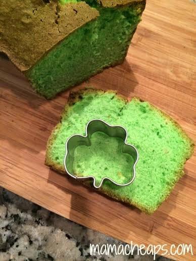shamrock pound cake cookie cutter