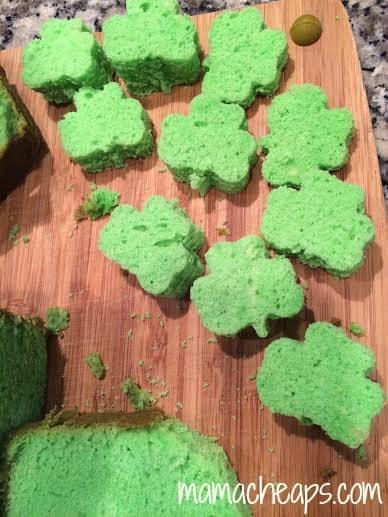 shamrock pound cake shamrocks