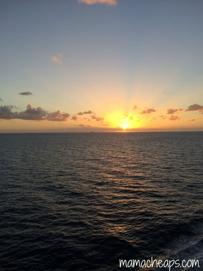 sunset disney cruise