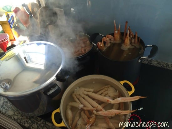 easter 2014 frogmore stew cooking