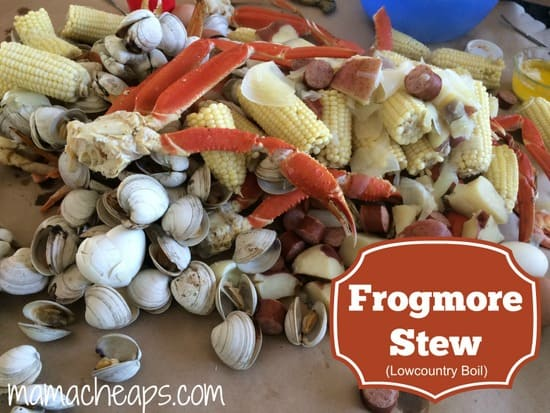 frogmore stew lowcountry boil title