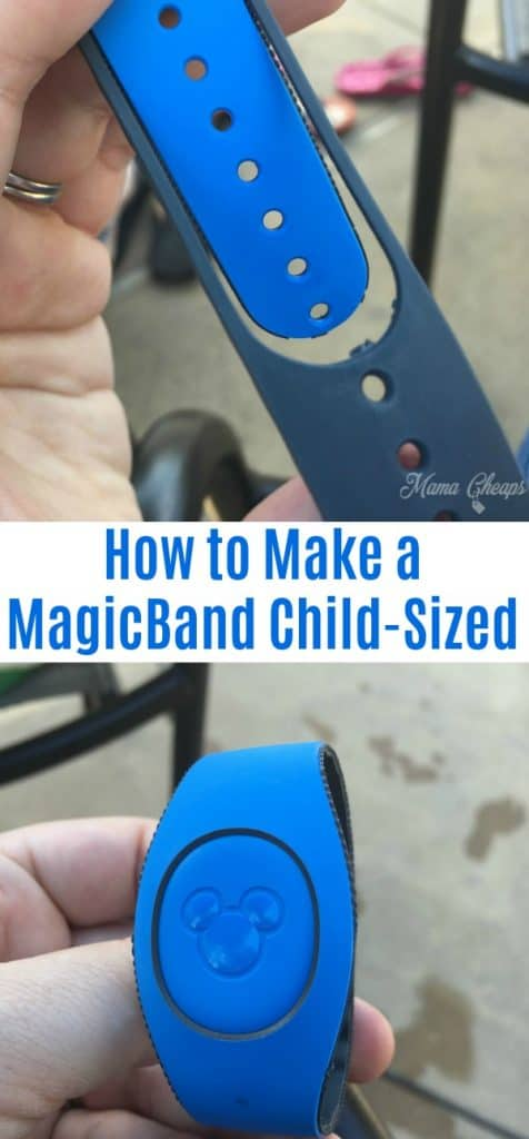 How to Make a MagicBand Child-Sized