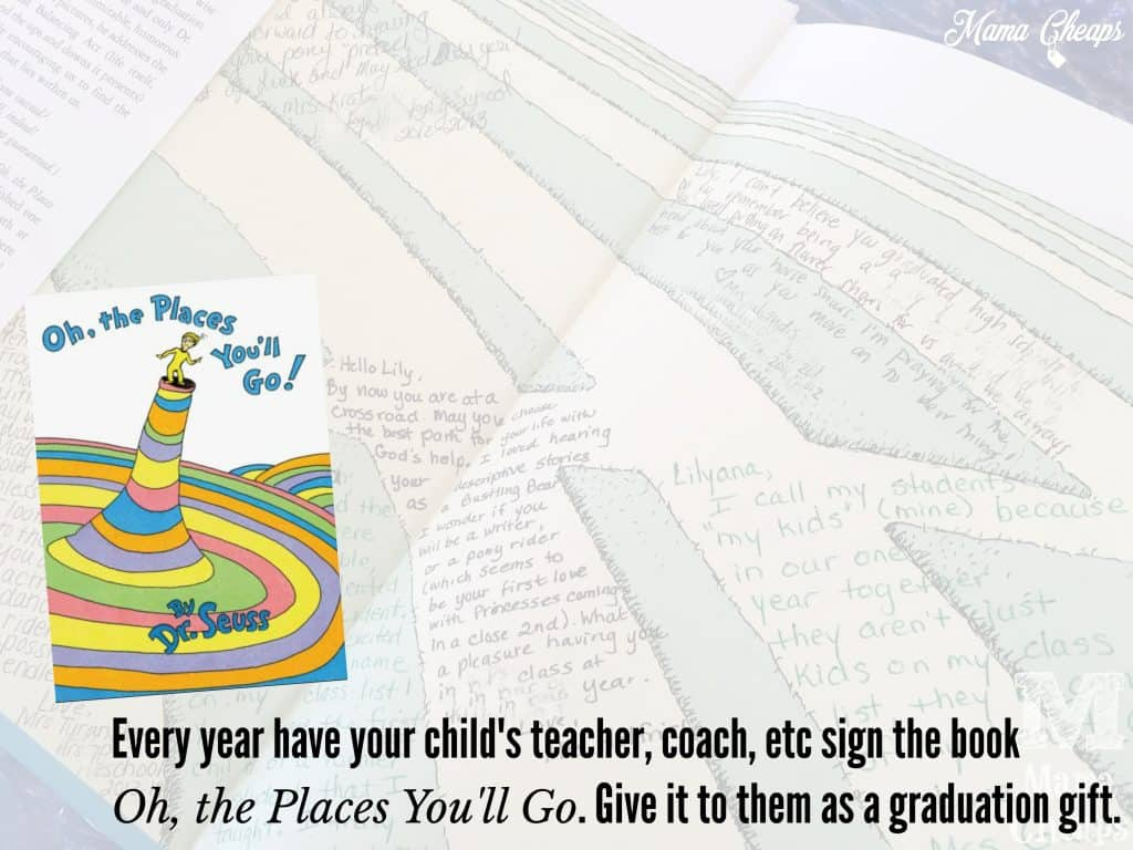 Places You'll Go Gift Seuss