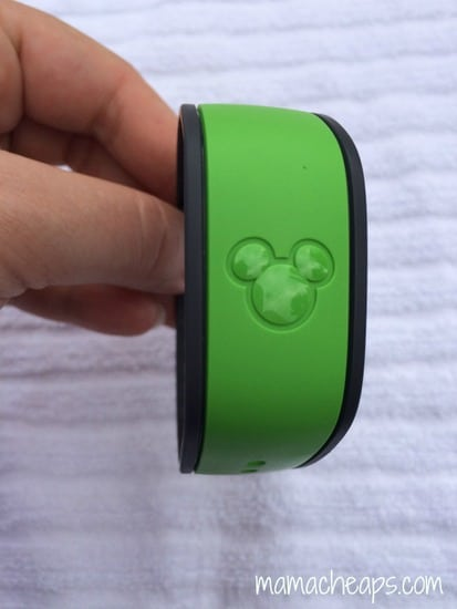 disney world green magic band